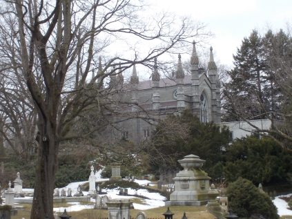 The Bigelow Chapel at Mount Auburn Cemetery, Cambridge, Mass.