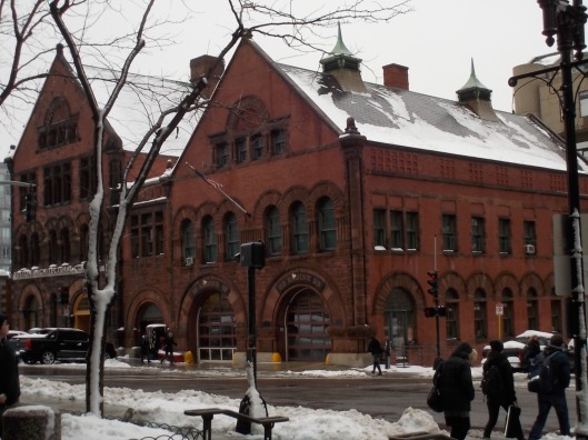 AWP was held in Boston this year. This cool old fire engine building was across the street from the Hynes Convention Center. Photo by author.