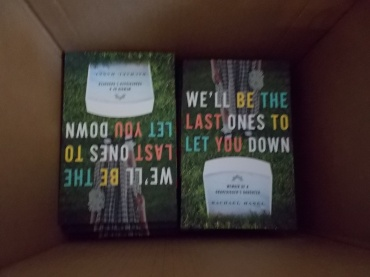 My complimentary author copies arrived on Monday.