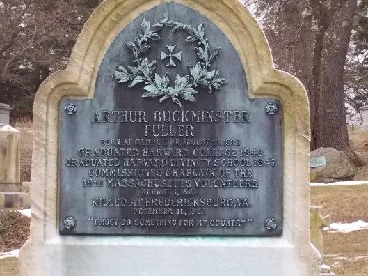 Photo by author. Detail of Arthur Buckminster Fuller's gravestone at Mt. Auburn Cemetery.