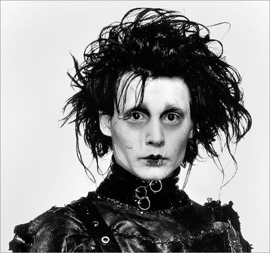 """Edward Scissorhands,"" also one of my favorite movies. Gotta love the weirdness that is Tim Burton."