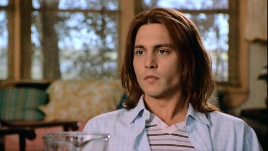 "Johnny Depp, after ""21 Jump Street"" and before Jack Sparrow and Tonto. I'm no Johnny-come-lately to Johnny; I've been a fan since the late 1980s."