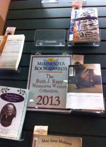 How wonderful to see a donation that is used to buy books of Minnesota Book Award winners and finalists!