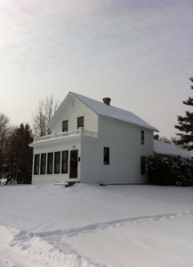 The house Judy grew up in. It has been preserved and moved to the museum site on Highway 169 as you enter Grand Rapids from the south.