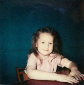 This picture was taken at preschool screening. I remember the day well because I was so excited! Finally, the key I needed to unlock the possibilities of real school! I still have that kernel excitement at the start of each new school year or semester.
