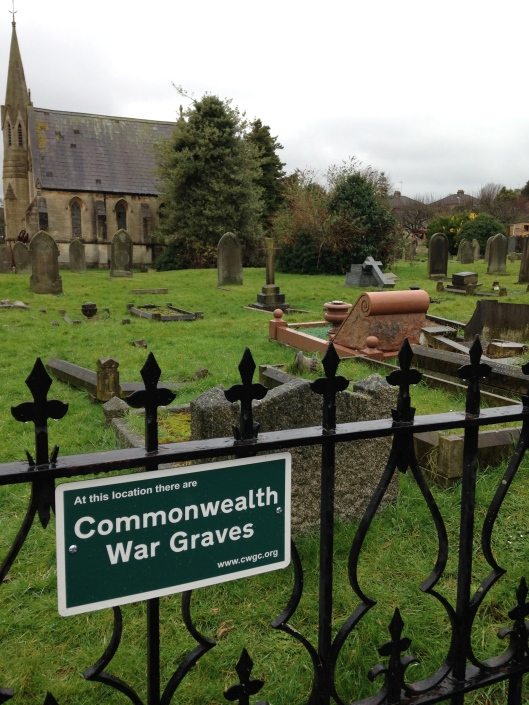Commonwealth War Graves are from WWI and WWII.