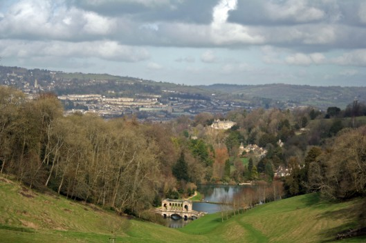Bath, England. An amazingly picturesque place. But on what darkness was it built?