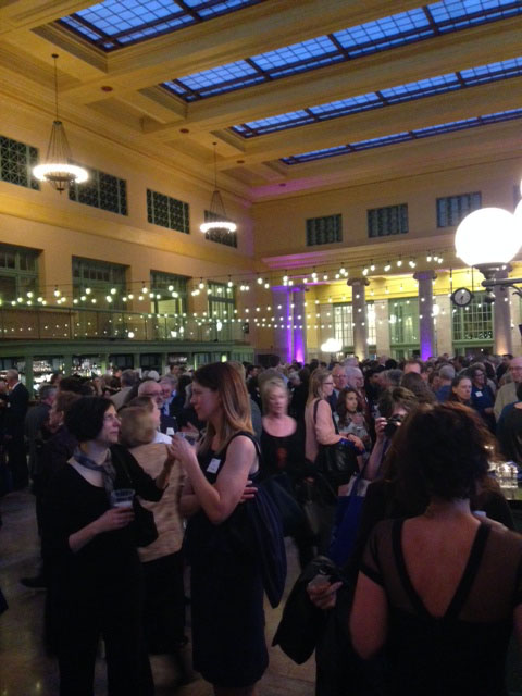 Minnesota Book Awards 2014 at the Union Depot in St. Paul.