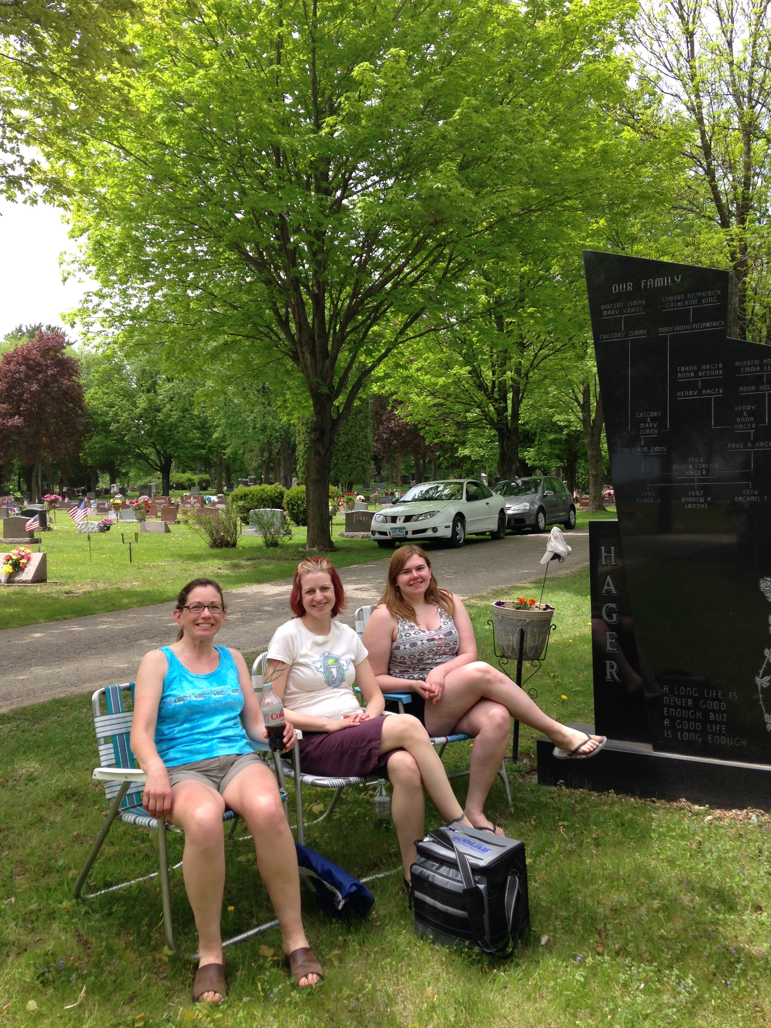 photo essay memorial day we ll be the last ones to let you i met my sister and niece in waseca on memorial day we started the day a picnic lunch at dad s grave in woodville a nod back to the time when