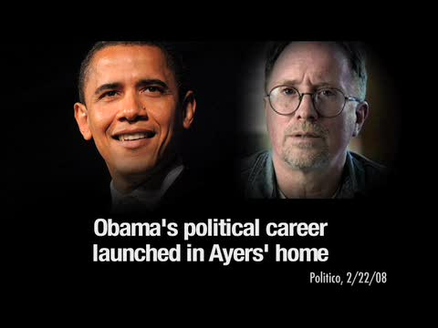 An example of how Bill Ayers was used in the 2008 anti-Obama campaign.
