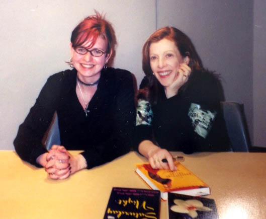 Me and Susan Orlean, c. 2002.