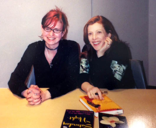 Me and Susan Orlean, c. 2002.