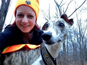 Me and Nina enjoying the Sakatah Trail, for the last time in 2014? Only time will tell.