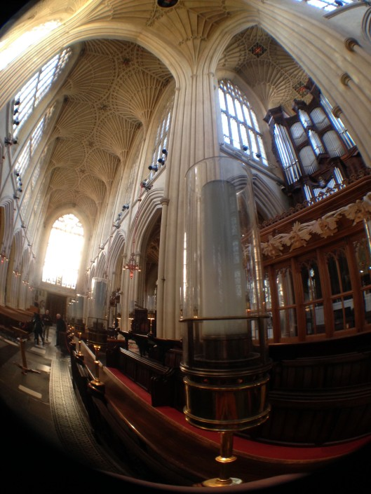 More from Bath Abbey.