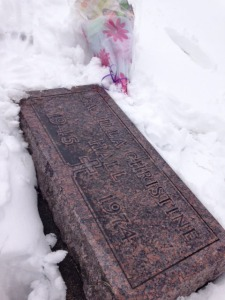 Camilla's gravestone at Resurrection Cemetery, St. Peter, Minnesota.