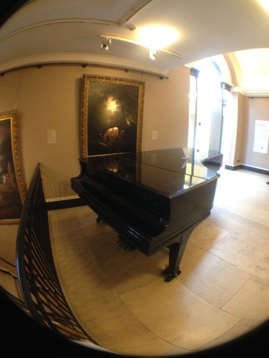 I took about twenty photos of the piano. I'm sure the docent thought I was a little crazy.