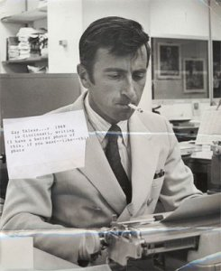Gay Talese. Photo from http://longforum.dreamhosters.com/?p=119.