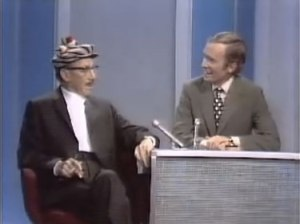 Groucho Marx on the Dick Cavett show. Groucho had some opinions about the Vietnam War.
