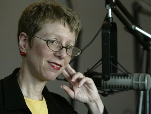 Terry Gross said she used to decline photo shoots because she wanted radio listeners to decide for themselves what she looked like. But in the Internet age, it's pretty impossible to keep that air of mystery. Photo courtesy of WHYY, by Miles Kennedy.