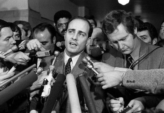 The Manson trial was a complete media storm. Photo from the Associated Press.