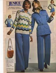 What the lady writer might have worn in 1979 if she left the house to conduct an interview.