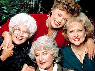 My Golden Girls. Hands-down the best, funniest TV show of all time.