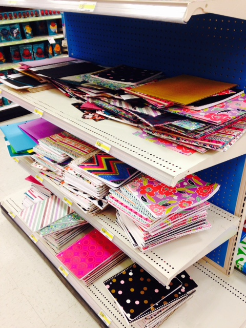 Look at all those pretty notebooks!