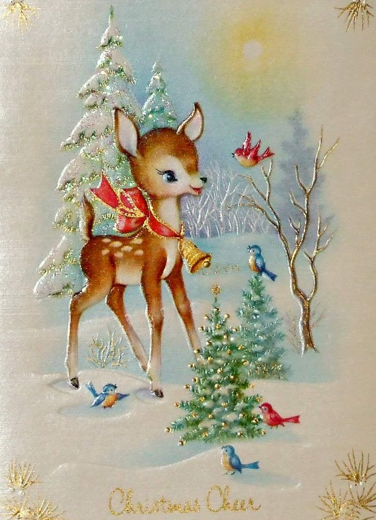 Vintage Christmas cards as inspiration | If You Have Five Seconds to ...